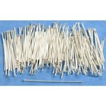 100 Sterling Silver Head Pins 24 Gauge 1""