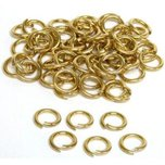 50 Gold Filled Open Jump Rings 8mm