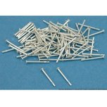 100 Sterling Silver Head Pins Jewelers Beading 22 Gauge