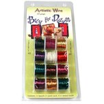 Artistic Wire Assorted Colors 22 Gauge 12Pcs