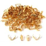 150 Gold Plated Bails 10 x 3.5mm