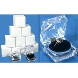 12 Large Mens Crystal Ring Jewelry Gift Boxes