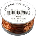 Artistic Wire Spool Natural 22 Gauge 13.7M