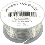Artistic Wire Spool Silver Plated 22 Gauge 4.5M