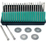 Diamond Burs Cut Off Wheels Jewelers Lapidary Tools