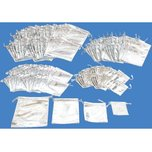 192 Drawstring Pouch Silver Gift Bags 4 Sizes