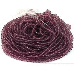 Amethyst Bicone Chinese Crystal Beads 6mm 20 Strands