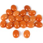 Aventurine Red Oval Cabochon 10.5mm 20Pcs