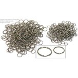 400 6 & 9mm Split Rings Charm Fishing Lure Parts New