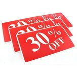 6 30% Off Plastic Message Display Sign