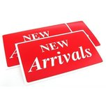 3 New Arrivals Plastic Message Display Signs
