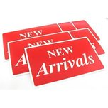 6 New Arrivals Plastic Message Display Signs