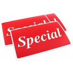3 Special Plastic Message Display Signs