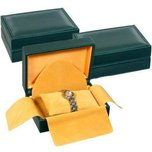 Leather Watch Display Boxes Case Green 3