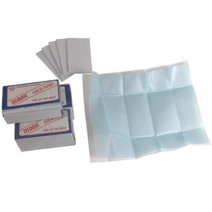 Diamond Parcel Paper Blue/Blue 80x45mm 75Pcs