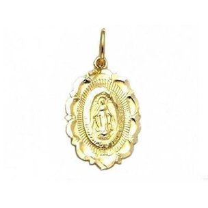 Miraculous Charm 14k Gold 24mm