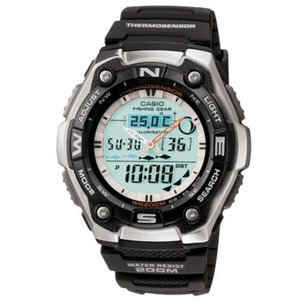 Casio Sports Gear Watch with Fishing Mode & Moon Data