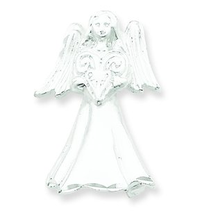 Sterling Silver Angel Pendant & Pin